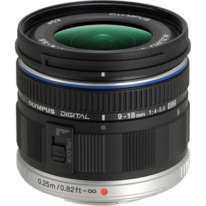 Olympus M.Zuiko Digital ED 9-18mm f/4-5.6 Lens (174535)