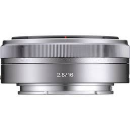 Sony 16mm F2.8 Lens for NEX E-Mount (SEL16F28)