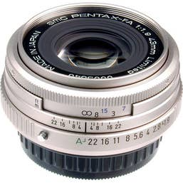 Pentax FA 43mm F/1.9 LTD Camera Lens - Silver (20170)