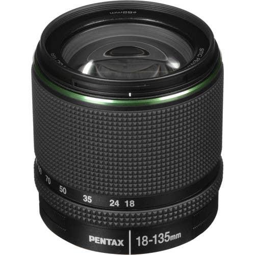 PENTAX smc DA 18-135mm F/3.5-5.6 ED AL IF DC WR Lens (21977)