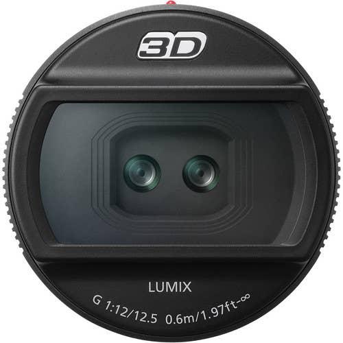 Panasonic Lumix G12.5mm f12 3D Lens