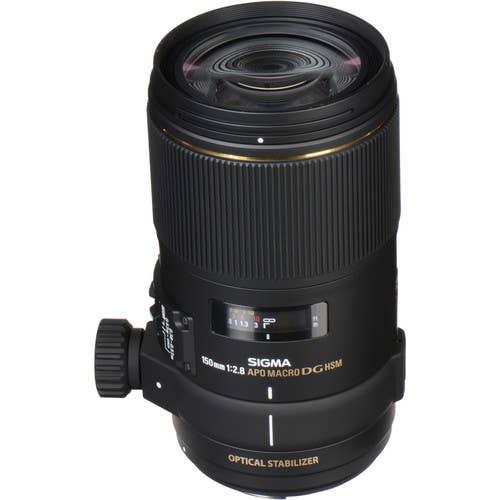 Sigma 150mm f/2.8 APO Macro EX DG OS Lens for Canon