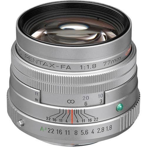 Pentax FA 77mm F/1.8 LTD Camera lens - Silver (27970)