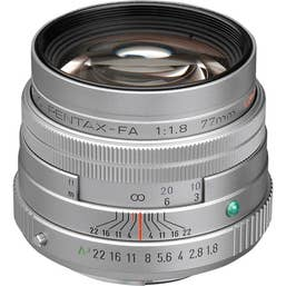 Pentax FA 77mm F/1.8 LTD Camera lens - Silver (27970)