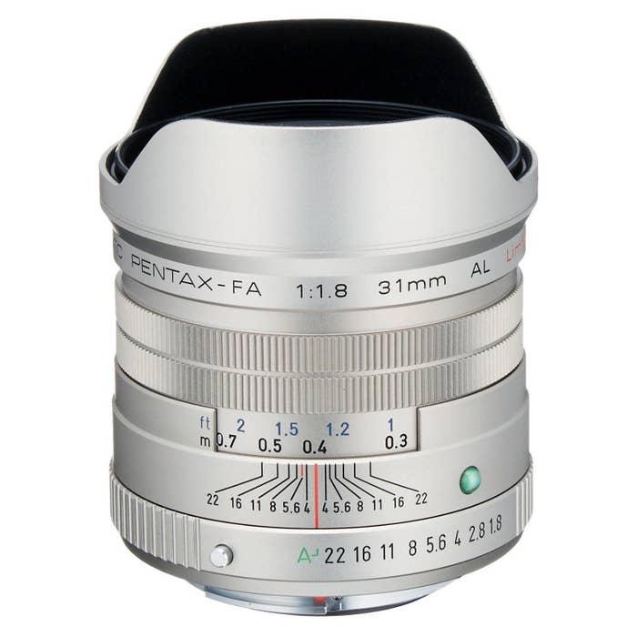 Pentax FA 31mm F/1.8 LTD Camera Lens - Silver (20280)
