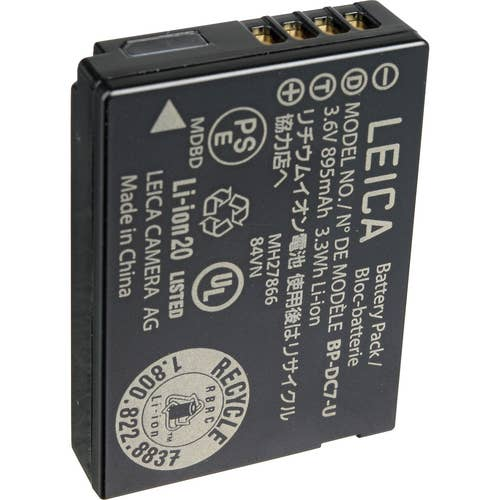 Leica BP-DC7 Lithium-Ion Battery for V-Lux 20