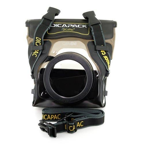 DiCAPac WPS5 for a Small SLR or Mirrorless Waterproof Case (GA WPS5)