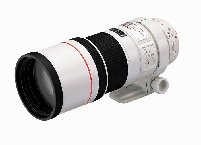 Canon EF 300mm f/4L IS USM Camera Lens