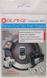 Glanz 4.7 inch LCD Cut-to-Fit Screen Protector   (GA SP47)