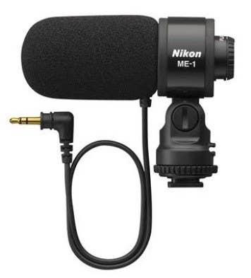 Nikon ME-1 External Unidirectional Stereo Microphone