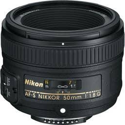 Nikon AF-S Nikkor 50mm f/1.8G Lens  -  JAA015DA