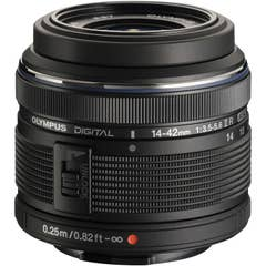Olympus M.Zuiko Digital ED 14-42mm f/3.5-5.6 II R Lens - Black