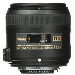 Nikon AF-S DX Micro NIKKOR 40mm f/2.8G Lens (JAA638DA)