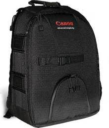 Canon EOS DSLR Backpack - Large  -  Black  -  EOSBAGL