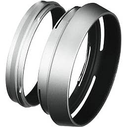 Fujifilm LH-X100S Silver Lens Hood and Adapter Ring for X100/X100S/X100F/X100V (75772)