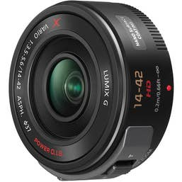 Panasonic Lumix G X Vario PZ 14-42mm f/3.5-5.6 Power O.I.S Lens - Black