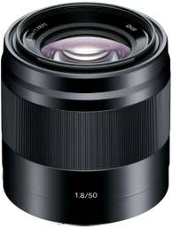 Sony E Mount 50mm f/1.8 Lens