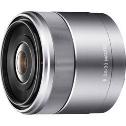 Sony E Mount 30mm f3.5 Macro Lens for NEX