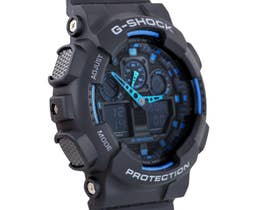 Casio G-Shock Men's 52mm GA100-1A2 Watch (Black)