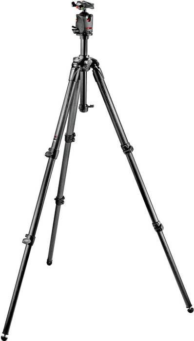 Manfrotto MK057C3-M0Q5 Professional Tripod and Head Kit.