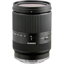 Tamron AF 18-200mm F3.5-6.3 Di III VC Lens for Sony E Mount - Black  (400705)