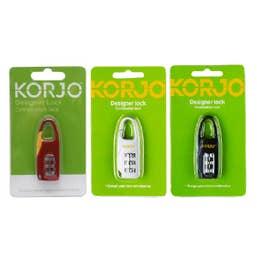 Korjo Designer Combination Lock