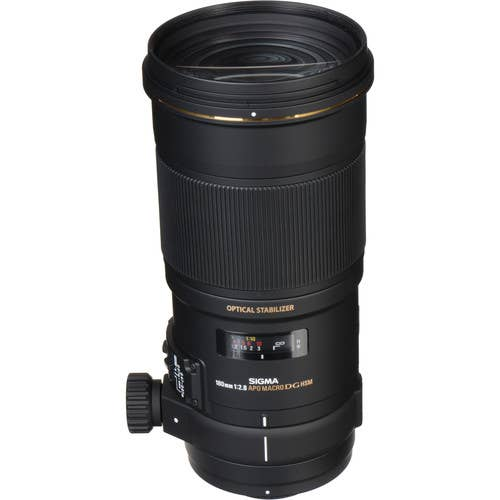 Sigma 180mm f/2.8 APO Macro EX DG OS HSM Lens for Nikon