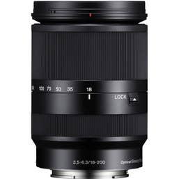 Sony E18-200mm f/3.5-6.3 OSS LE Lens for NEX