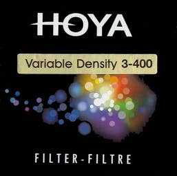 Hoya 58mm Variable ND Filter
