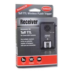 Hahnel Tuff Wireless TTL Flash Receiver for Canon  (CHLTRECC)
