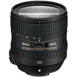 Nikon AF-S NIKKOR 24-85mm f/3.5-4.5 G ED VR Lens