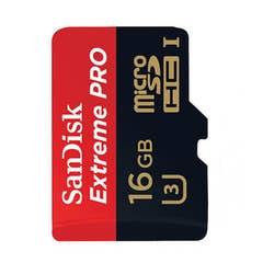 SanDisk Extreme PRO microSDHC 16GB Class10 U3 95MB/s (SDSDQXP-016G-XQ)