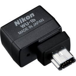 Nikon WU-1b Wireless Mobile Adapter for D610, D600 and other selected cameras