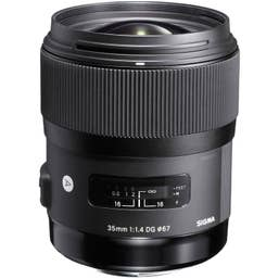 Sigma 35mm f/1.4 DG HSM Art Lens for Canon
