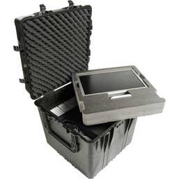 Pelican 370 Cube Case with Foam - Black