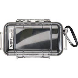 Pelican 1015 Micro Case - Clear with Black Liner