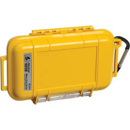 Pelican 1015 Micro Case - Yellow with Black Liner