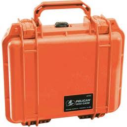 Pelican 1200 Case without Foam - Orange