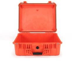 Pelican 1550 Case without Foam - Orange   (1550ONF)