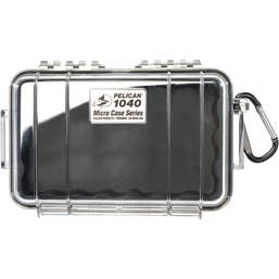 Pelican 1040 Micro Case - Clear with Black Liner  (1040CWB)