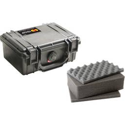 Pelican 1120 Case with Foam - Black (1120B)