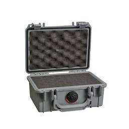 Pelican 1120 Case with Foam - Silver (1120S)