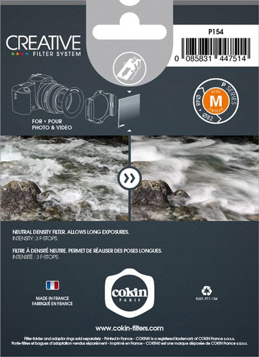 Cokin - X154 ND8 Neutral Grey XL (X) Filter
