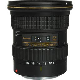 Tokina AT-X 116 PRO DX-II 11-16mm f/2.8 Lens for Canon EOS (1116PRODXEOS)