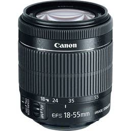Canon EF-S 18-55mm IS STM f/4-5.6 Lens