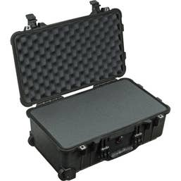 Pelican 1510 Carry On Case with Foam - Black