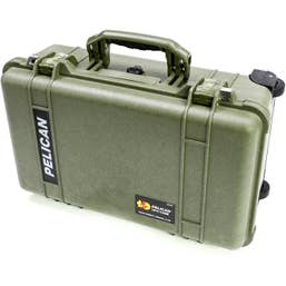 Pelican 1510 Carry On Case with Foam - Olive Green
