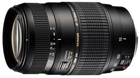 Tamron AF 70-300mm F4-5.6 Di LD Macro Lens - Canon Mount
