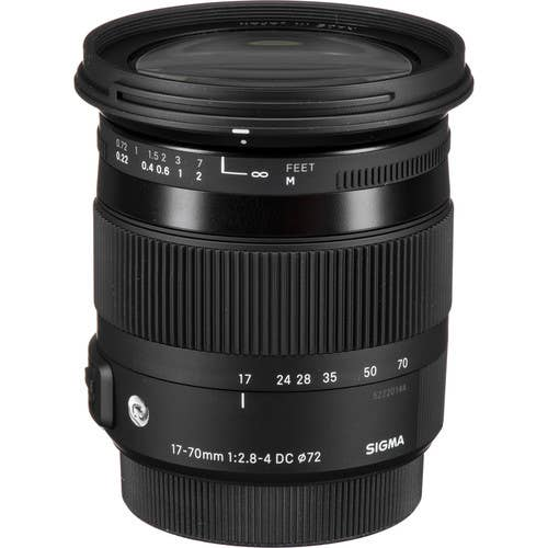 Sigma 17-70mm f/2.8-4 DC Macro OS Contemporary Lens for Canon