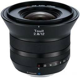 Zeiss Distagon Touit 12mm f/2.8 Lens for Fujifilm X Mount